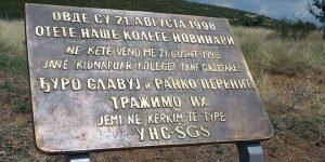 Obeležena godišnjica nestanka srpskih novinara na Kosovu