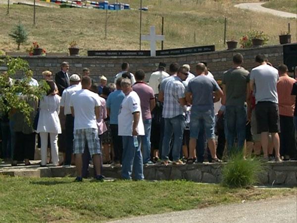 Служен парастос убијеним Србима у Ораховцу