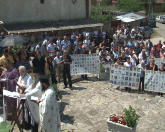 Одржан парастос страдалим Србима у Ораховачкој Општини
