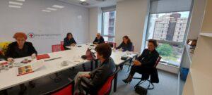 Састанак председника Координације српских удружења са делегацијом МКЦК из Женеве