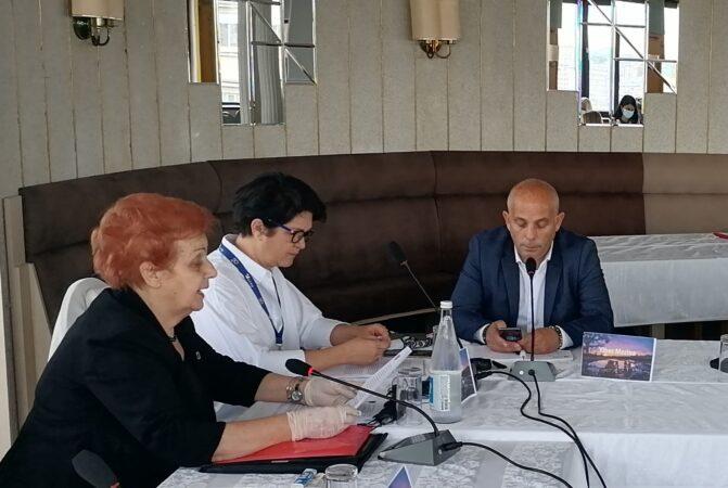 """Obraćanje predstavnice ICMP-a na Okruglom stolu """"Ekshumacije i identifikacije nestalih lica na Kosovu i Metohiji"""""""