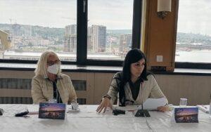 """Обраћање представнице МКЦК Мартина Фава на Округлом столу """"Ексхумације и идентификације несталих лица на Косову и Метохији"""""""
