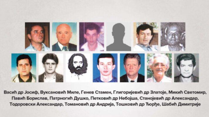 Дан убијених и отетих здравствених радника на Косову и Метохији, у периоду од 1998. до 2000. године
